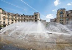 Fontaine de Munich Photo stock