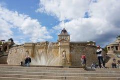 Fontaine de Musée National Photo libre de droits