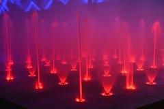 Fontaine de musical de crochet de musique de fontaine de chant de fontaine de musique photo stock