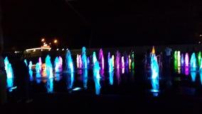 Fontaine de musical de Krasnodar photo libre de droits