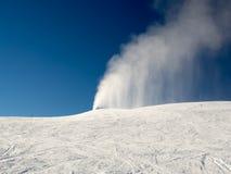 Fontaine de neige Image libre de droits