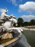 Fontaine de Neptune à Vienne image libre de droits