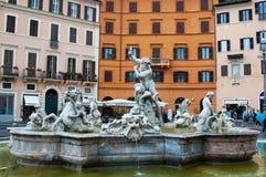Fontaine de Neptune Image libre de droits