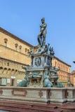 Fontaine de Neptune, Bologna Photographie stock libre de droits