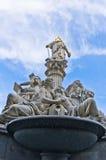 Fontaine de Pallas Athene devant l'Autrichien Parlament, Vienne Photos libres de droits