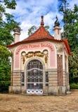 Fontaine de Pedras Salgadas en parc Images libres de droits