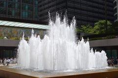 Fontaine de plaza Photographie stock libre de droits