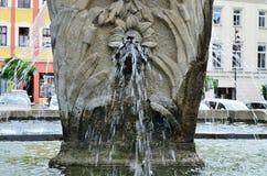 Fontaine de près Photographie stock libre de droits