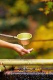 Fontaine de purification image libre de droits