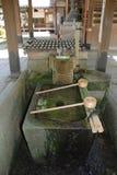 Fontaine de purification en dehors de tombeau photographie stock libre de droits