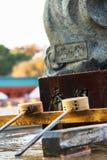 Fontaine de purification de tombeau de Heian photo libre de droits