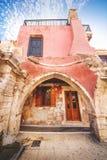 9 9 2016 - Fontaine de Rimondi dans Rethymno, Crète Photographie stock