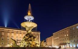 Fontaine de Salzbourg image stock