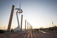 Fontaine de serpent chez Parc Guell, Barcelone, Espagne, septembre 2016 Photos stock