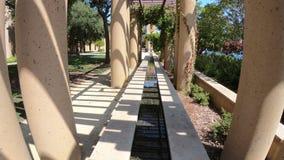 Fontaine de Stanford Palo Alto banque de vidéos
