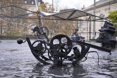Fontaine de Tinguely photo libre de droits