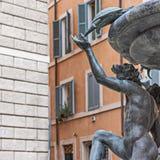 Fontaine de tortue à Rome Image libre de droits