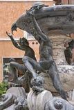 Fontaine de tortue à Rome Photos stock
