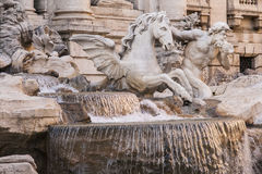 Fontaine de TREVI Photos stock