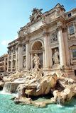 Fontaine de TREVI Photographie stock