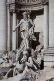 Fontaine de TREVI, groupe Images stock