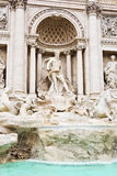 Fontaine de TREVI à Rome Image libre de droits