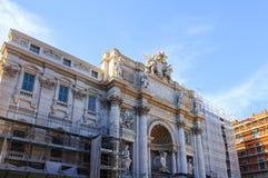 Fontaine de TREVI, Rome, Italie photographie stock libre de droits