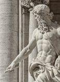 Fontaine de TREVI, Rome Itay images libres de droits