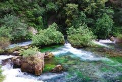 Fontaine de Valchiusa, Francia Immagine Stock Libera da Diritti