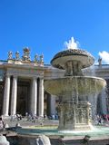 Fontaine de Vatican Image libre de droits