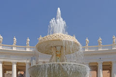 Fontaine de Vatican Photo stock