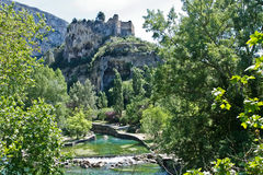 Fontaine-de-Vaucluse Royalty Free Stock Image