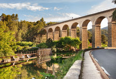 Fontaine de Vaucluse, Provence, Frankreich Lizenzfreie Stockbilder