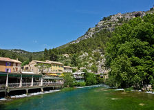 Fontaine-de-Vaucluse Royalty Free Stock Images