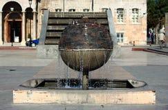 Fontaine de ville dans Konya Photo stock