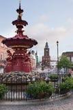 Fontaine de ville de Dumfries image libre de droits