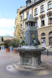 Fontaine de Zsolnay Photo stock
