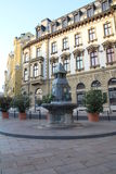 Fontaine de Zsolnay Images libres de droits