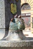 Fontaine de Zsolnay Photos libres de droits