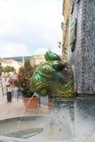 Fontaine de Zsolnay Image libre de droits