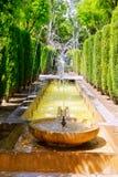 Fontaine dei giardini Palma de Mallorca del Hort del Rei Fotografia Stock Libera da Diritti