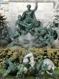 Fontaine des Girondins, Bordeaux (France) Royalty Free Stock Photography