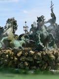 Fontaine des Girondins, Bordeaux (France) Stock Photos