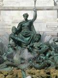 Fontaine des Girondins, Bordeaux (Frankrijk) Royalty-vrije Stock Foto