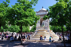 Fontaine des Innocents, Paris Royalty Free Stock Photo