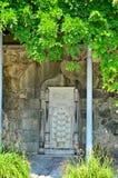 Fontaine du marbre blanc Photo libre de droits