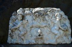 Fontaine du marbre blanc Image stock