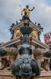 Fontaine du Neptune à Batumi, la Géorgie. Photographie stock libre de droits