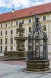 Fontaine du ` s de Kohl et cage de la honte Photos stock