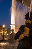 Fontaine em Paris Imagem de Stock Royalty Free